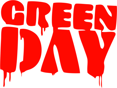 Принт Наклейка Green Day - FatLine