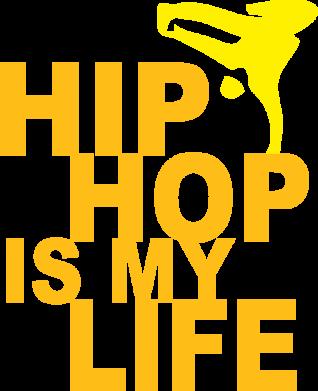 Принт Подушка Hip-hop is my life - FatLine