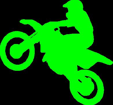 Принт Мужская майка Кроссовый мотоцикл - FatLine