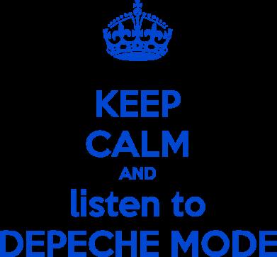 Принт Штаны KEEP CALM and LISTEN to DEPECHE MODE - FatLine