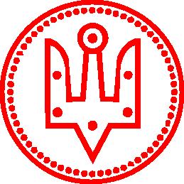 Принт Женская майка Герб України у колі - FatLine