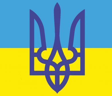 Принт Подушка Герб на прапорі - FatLine