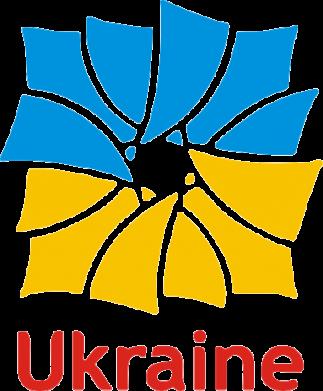Принт Женская майка Ukraine квадратний прапор - FatLine