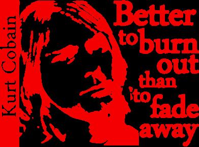 Принт Кружка 320ml Kurt Cobain - FatLine