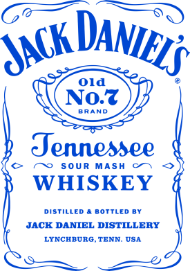 Принт Фартук Jack Daniel's - FatLine