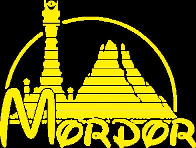 Принт Футболка Поло Mordor (Властелин Колец) - FatLine
