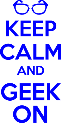 Принт Фартук KEEP CALM and GEEK ON - FatLine