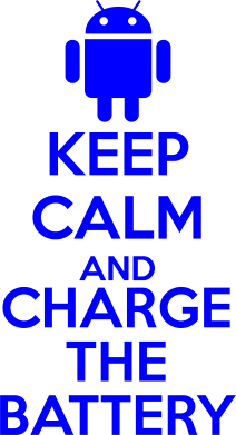 ����� ������ ��� ���� KEEP CALM and CHARGE BATTERY - FatLine