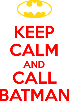 ����� �������� ���� KEEP CALM and CALL BATMAN - FatLine