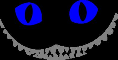 Принт Кружка 320ml чеширский кот - FatLine