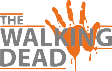 ����� ������ The Walking Dead logo - FatLine
