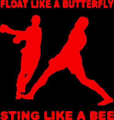 Принт Коврик для мыши Ali: Float Like A Butterfly - FatLine