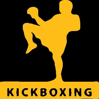Принт Женская толстовка Kickboxing Fighter - FatLine