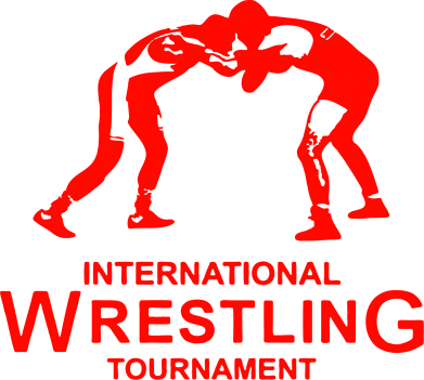 Принт Наклейка International Wrestling Tournament - FatLine