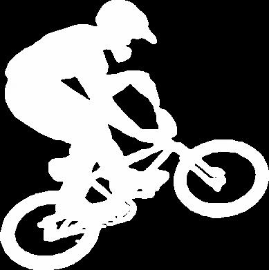 Принт Мужская толстовка на молнии BMX Extreme - FatLine