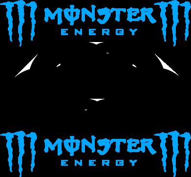 Принт Коврик для мыши Monster Energy DC Logo - FatLine