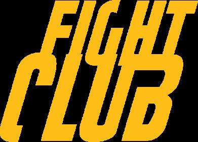 Принт Футболка Поло Fight Club - FatLine