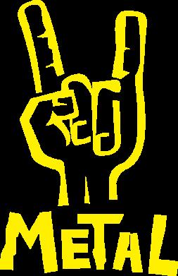 Принт Детская футболка Metal - FatLine