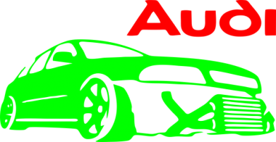 ����� ������� ����� Audi Turbo - FatLine