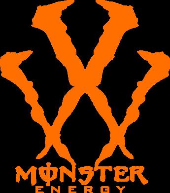 Принт Подушка Monster Energy W - FatLine