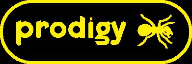 ����� ������� �������� � V-�������� ������� Prodigy Logo - FatLine