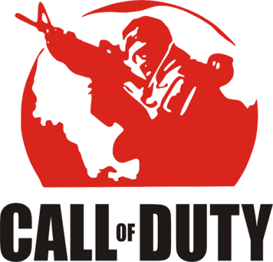 ����� �������� � ������� ������� Call of Duty Logo - FatLine