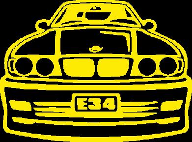 Принт Сумка BMW E34 - FatLine