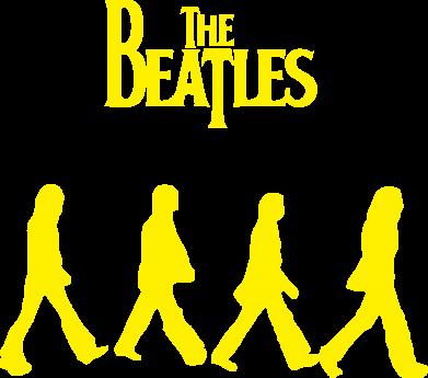Принт Женская майка Beatles Group - FatLine