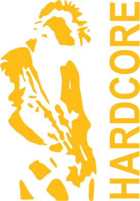 Принт Реглан Harcore - FatLine