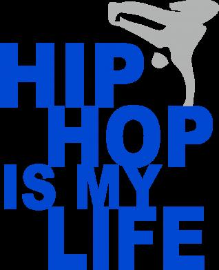 Принт Реглан Hip-hop is my life - FatLine