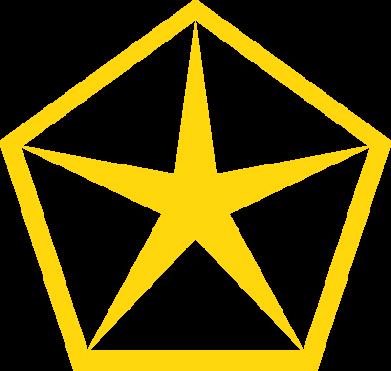 Принт Футболка Chrysler Star - FatLine