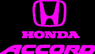 Принт Реглан Honda Accord - FatLine