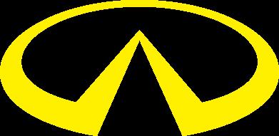Принт Толстовка Infiniti logo - FatLine