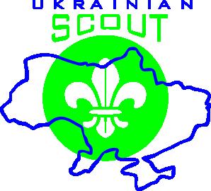 Принт Детская футболка Ukrainian Scout Map - FatLine