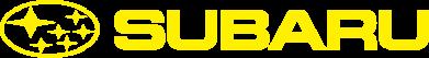 Принт Женская футболка с V-образным вырезом Subaru logo - FatLine