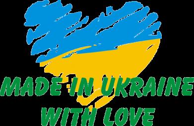 Принт Коврик для мыши Made in Ukraine with Love - FatLine