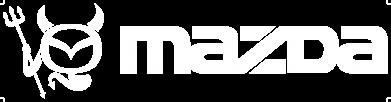 Принт Футболка Поло Mazda - FatLine