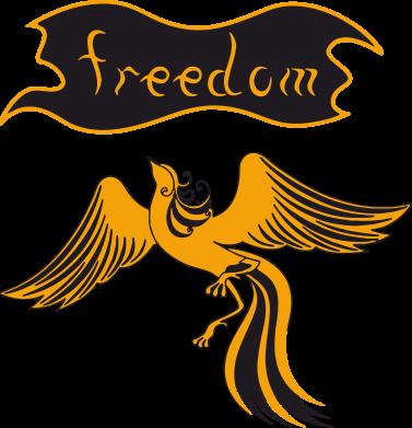 Принт Подушка Freedom! - FatLine