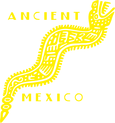 Принт Футболка Поло Ancient Mexico Art - FatLine