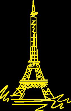 Принт Реглан Paris - FatLine