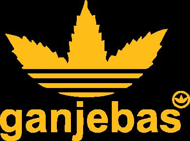 Принт Женская футболка с V-образным вырезом Ganjubas - FatLine