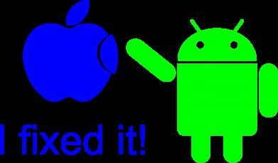 Принт Коврик для мыши I fixed it! Android - FatLine