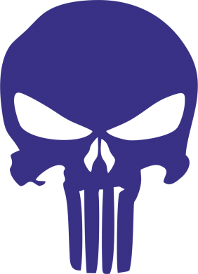 Принт Кружка 320ml Зубастый череп - FatLine