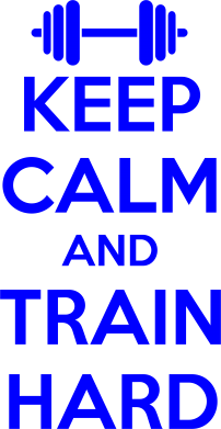 ����� ������� ����� KEEP CALM and TRAIN HARD - FatLine