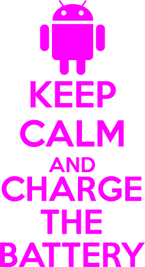 Принт Сумка KEEP CALM and CHARGE BATTERY - FatLine