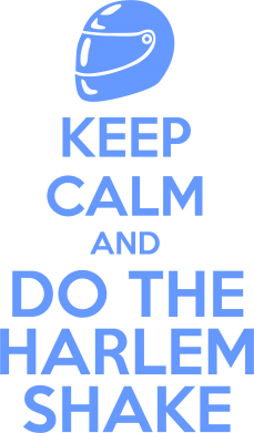 Принт Коврик для мыши KEEP CALM and DO THE HARLEM SHAKE - FatLine