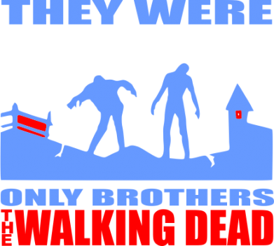 ����� �������� ���� They were only brothers Walking dead - FatLine
