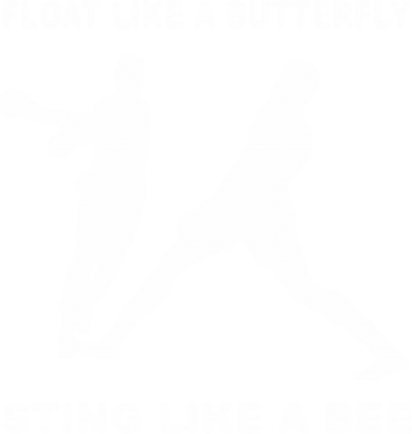 Принт Толстовка Ali: Float Like A Butterfly - FatLine