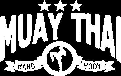 Принт Мужская футболка  с V-образным вырезом Muay Thai Hard Body - FatLine