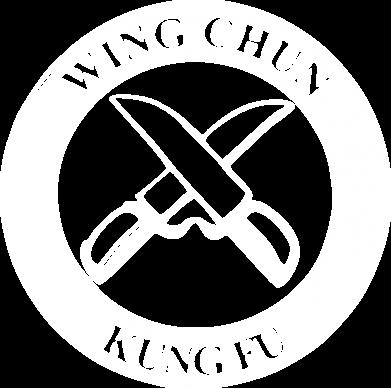 Принт Мужская футболка  с V-образным вырезом Wing Chun kung fu - FatLine